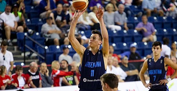 Francisco Caffaro caps strong week at FIBA Americas Championship