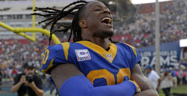 Rams Injury Report  Todd Gurley returns to practice 570fe6245