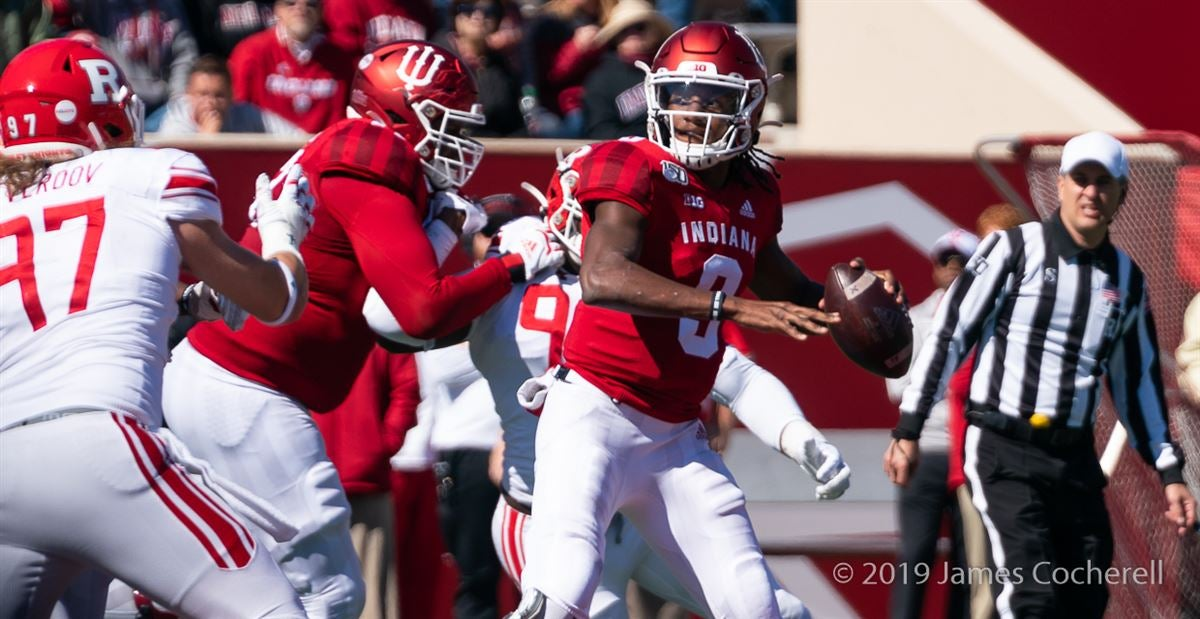 IU QB Michael Penix knocked out of Maryland game