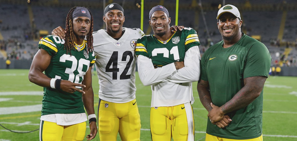 Packers pay homage to Morgan Burnett during Thursday's game