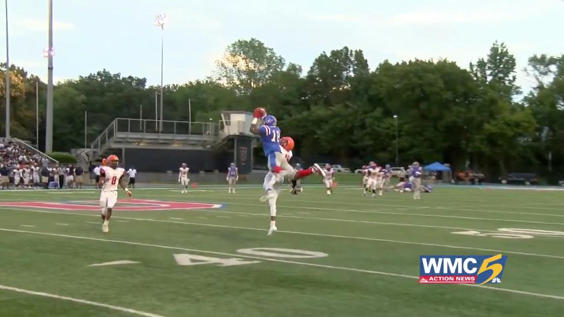 WATCH: Maurice Hampton's impressive catch