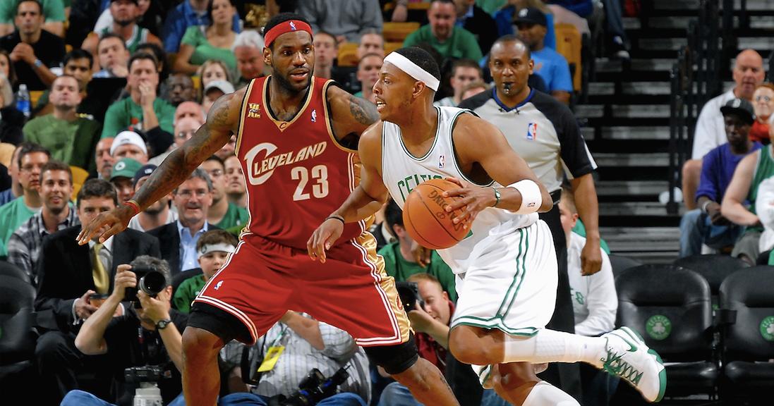 Paul Pierce admits to spitting toward LeBron, Cavaliers bench