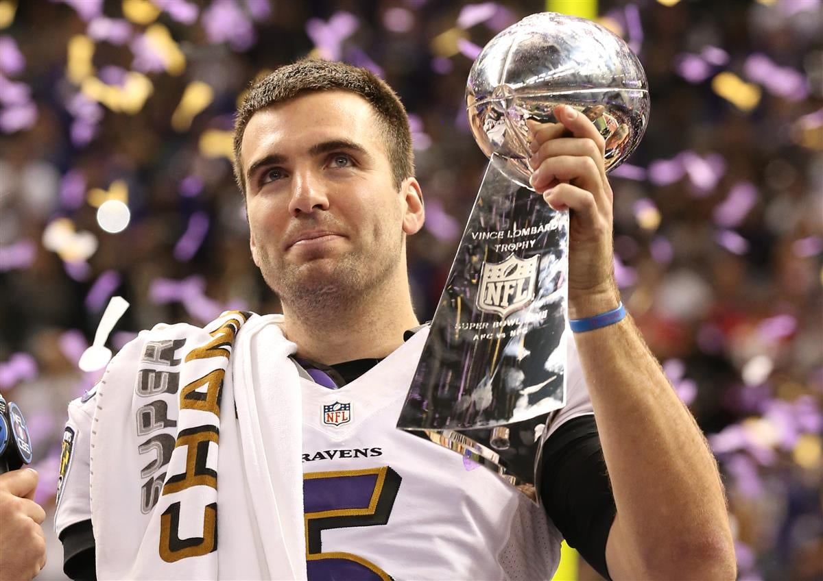 Image result for flacco super bowl