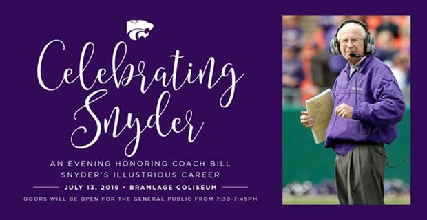 Public invited to celebrate Coach Snyder's career