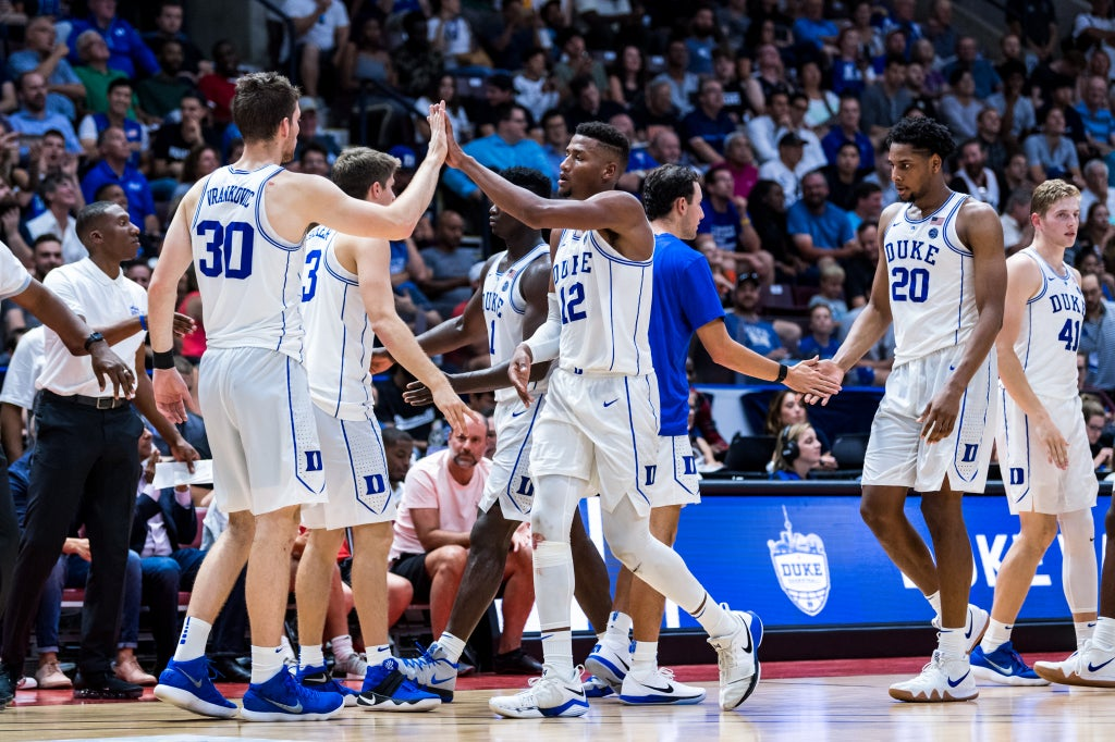 Duke's players and coaches break down Canadian tour