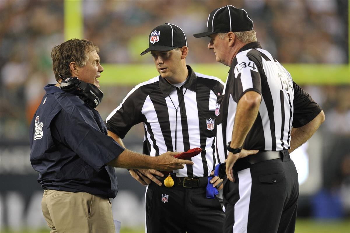 Nfl Referees Head To Patriots Training Camp