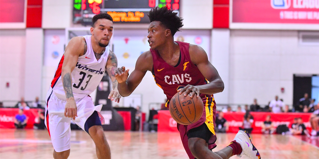 finest selection 1e266 4af62 Collin Sexton glad to have first NBA experience under his belt