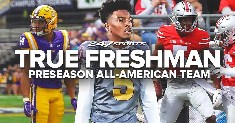 The 247Sports True Freshman Preseason All-American Team for 2019