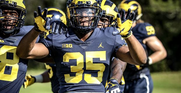 Observations from Michigan's Outback Bowl practices