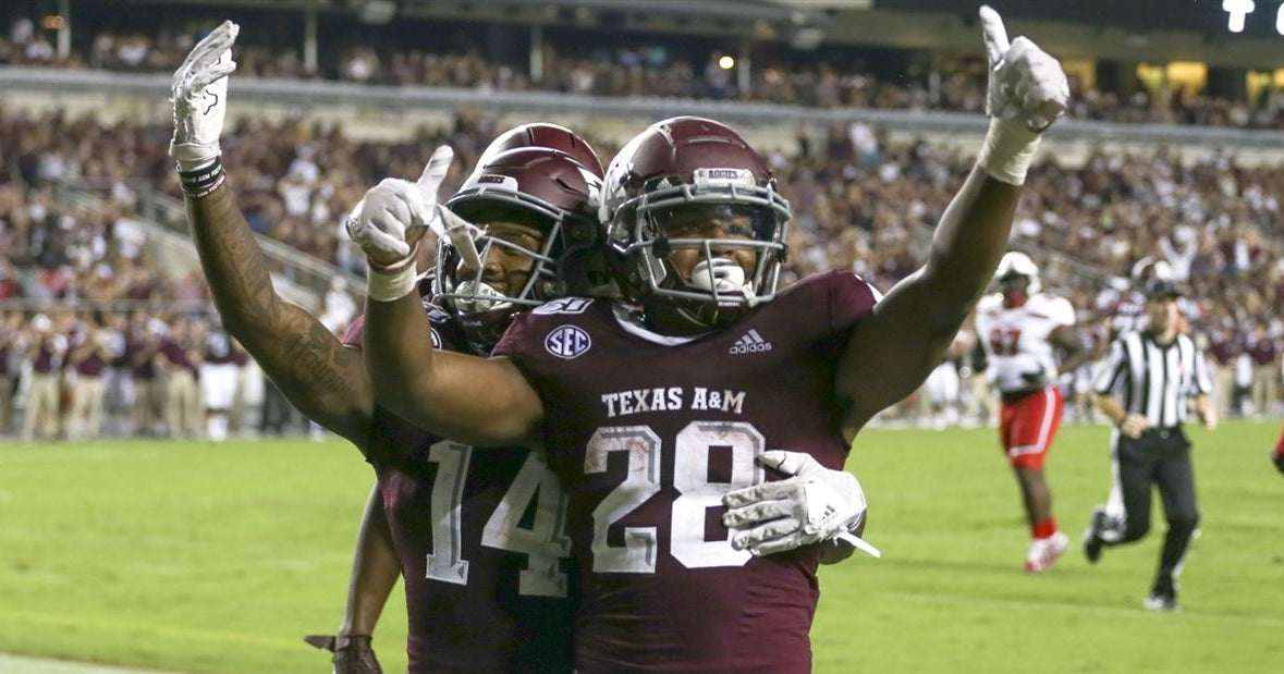 10 thoughts on A&M win over Lamar: Spiller is a keeper at RB