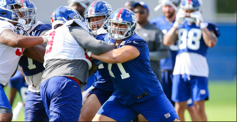 Giants Training Camp: Highlights from the first padded practice