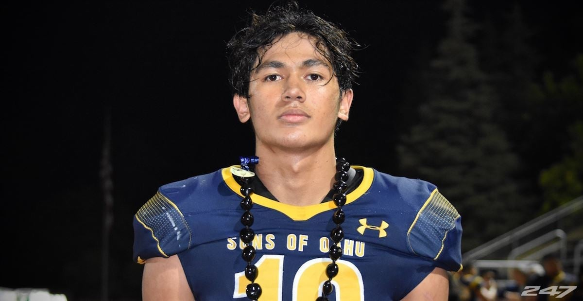 Hawaii 4-Star OLB Tevarua Tafiti adds Cal, UCLA offers