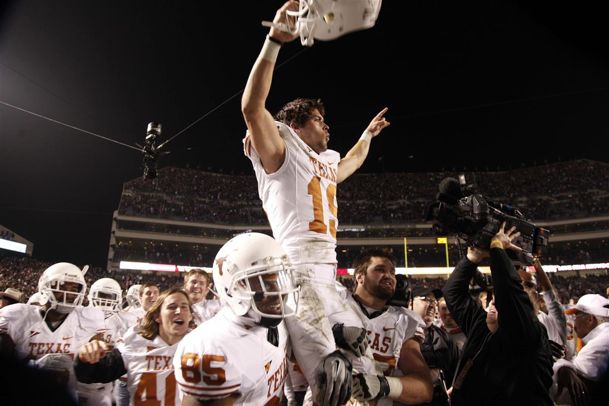 Justin Tucker Posted A Pic That Will Make Every Longhorn Smile