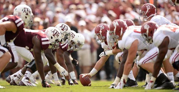Texas A M Opens As Big Underdog At Home To No 1 Alabama