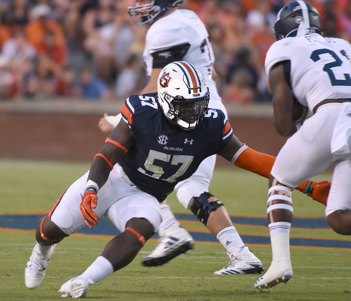 Auburn Football Preview: Worst Case, Best Case at Linebacker
