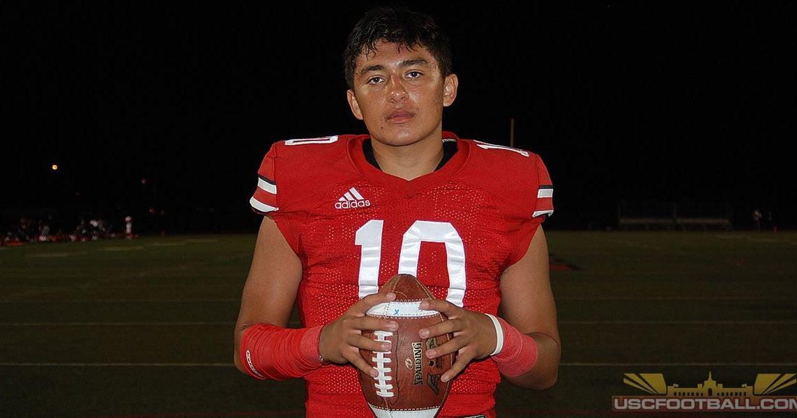 Rancho Verde 2022 quarterback AJ Duffy ISO film