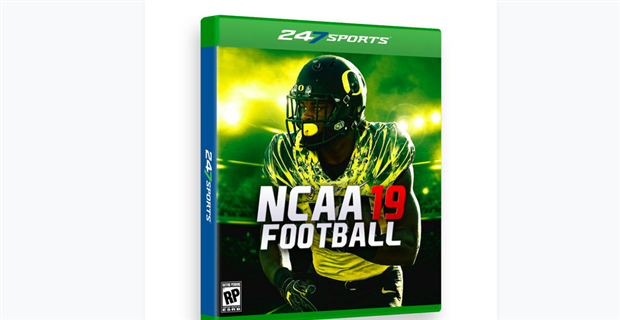 Every team's NCAA Football video game cover for 2019