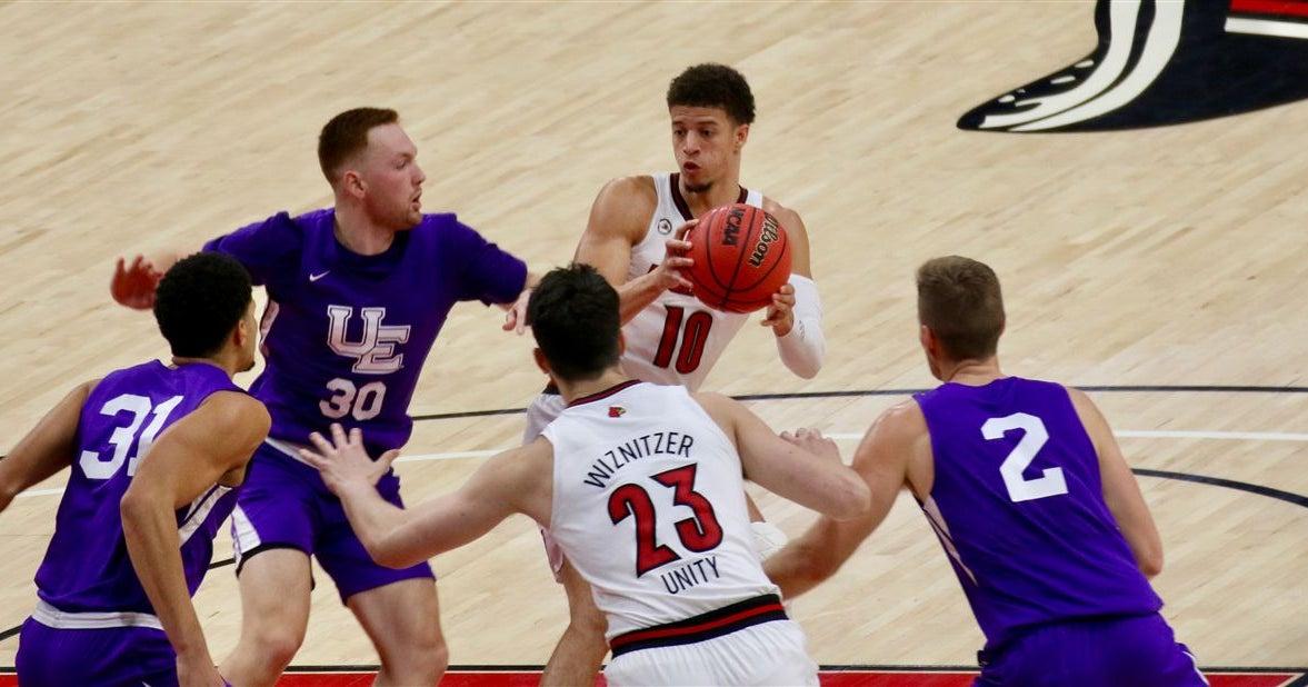 Samuell Williamson's health just fine for Louisville hoops