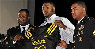 Army All-American Parsons looking forward