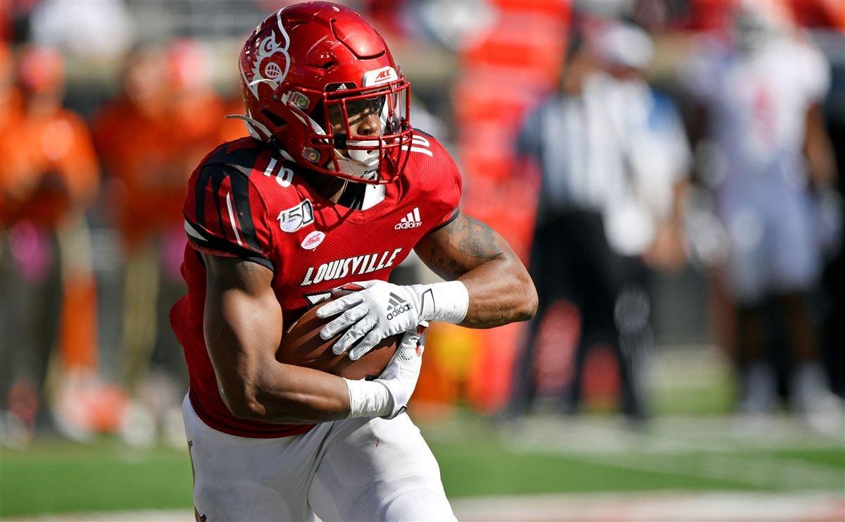 Louisville running back Javian Hawkins eclipses 1,000-yard mark