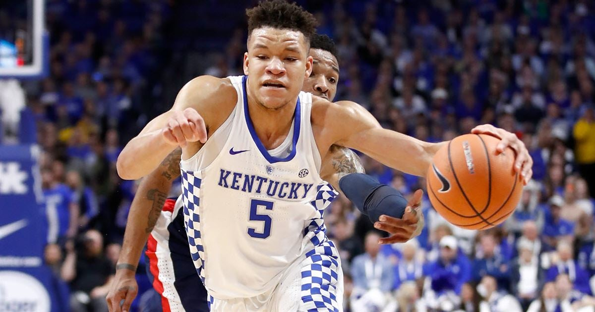 Uk Basketball: Kevin Knox 'really Wanted To Come Back' To Kentucky