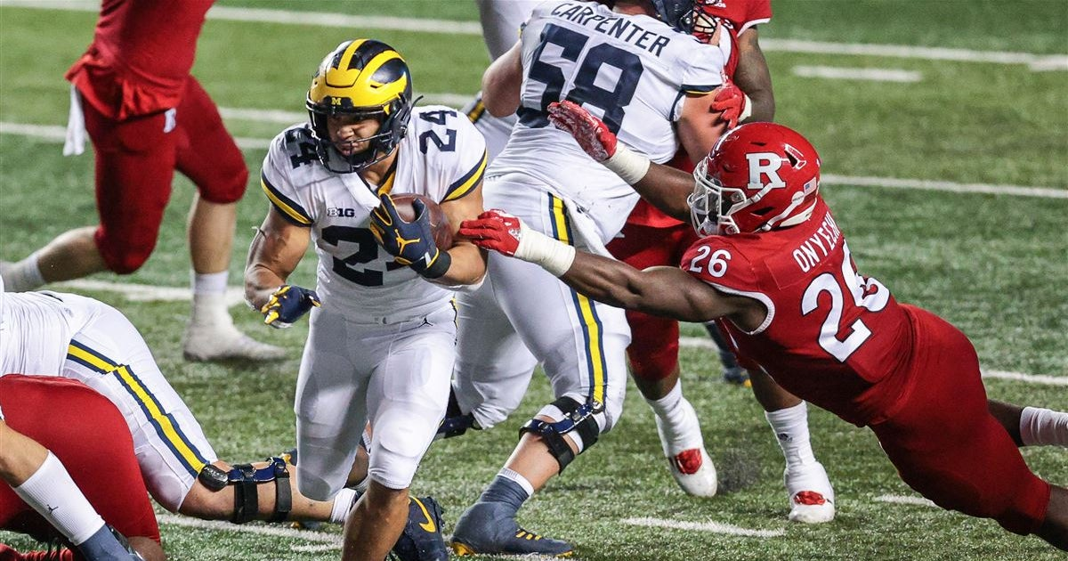 Recruiting insider breaks down Pac-12 buzz for Michigan RB transfer Zach Charbonnet