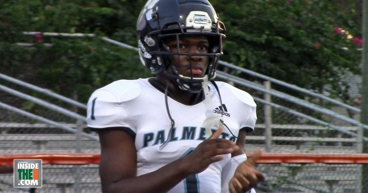 """WR Brashard Smith """"the best offensive player in Dade County"""""""
