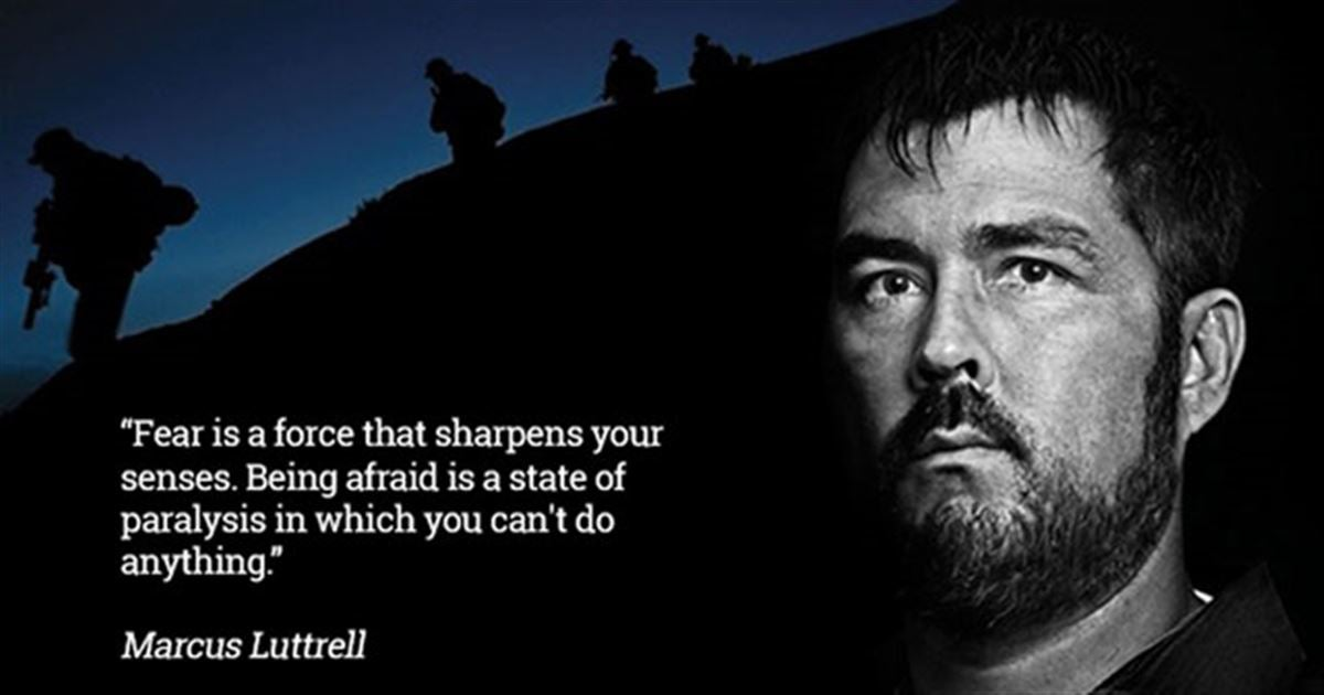 Our 10 favorite Marcus Luttrell Quotes