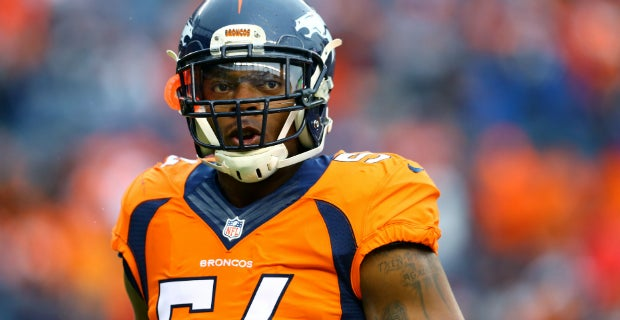 best sneakers 10867 a3226 Broncos' LB Brandon Marshall speaks out on domestic violence