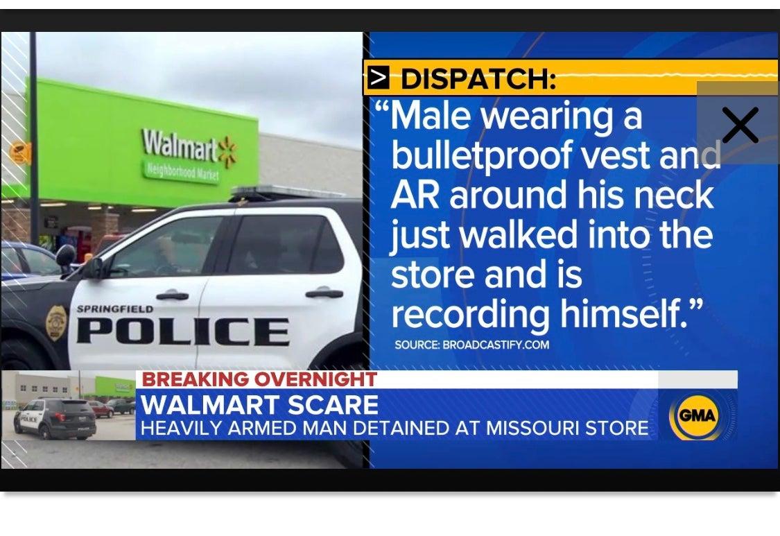 Concealed Carry Holder Stops Gunman at Missouri WalMart