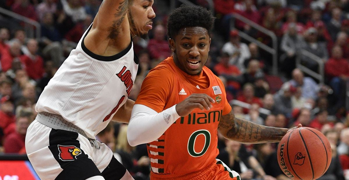 Cold shooting sinks Hurricanes, fall 74-58 to No. 13 Louisville
