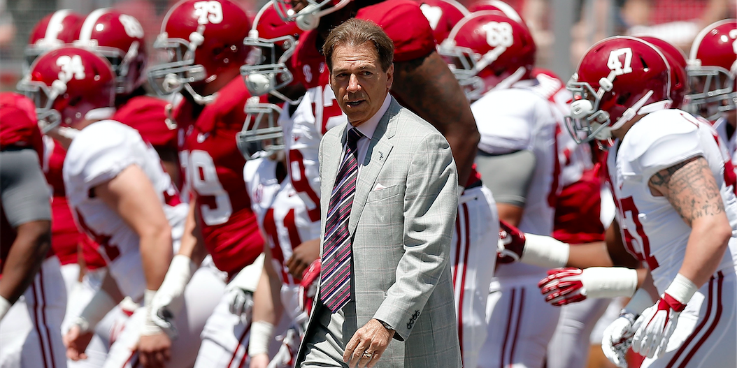 Alabama Announces Date Time For 2019 A Day Game