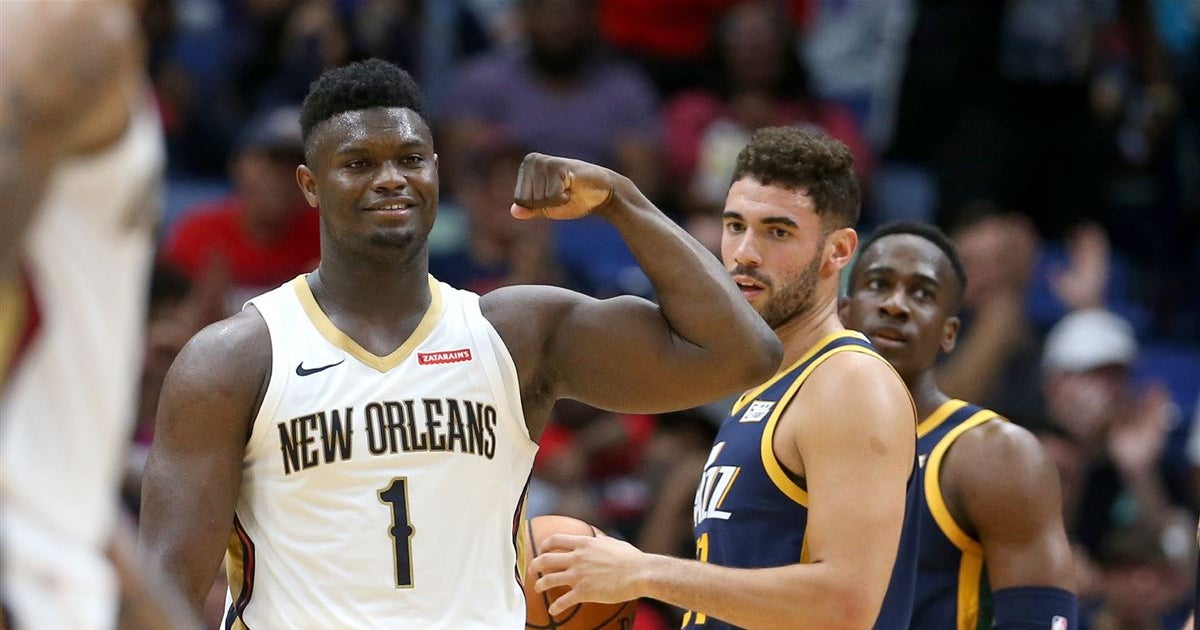 Zion Williamson in 'uncharted territory' with preseason success