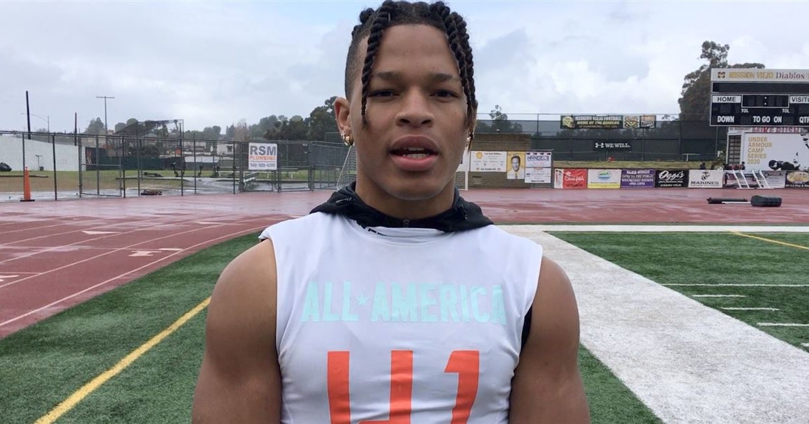 VIDEO: Las Vegas WR Michael Jackson Reacts to UCLA Offer