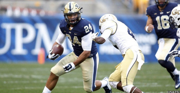 Pitt 28 Georgia Tech 56 Game Stats