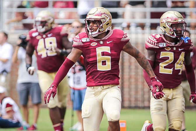 Florida State's updated depth chart for the Louisville game