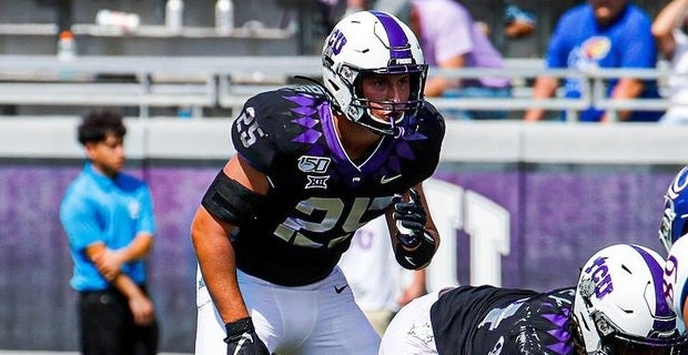 Van Zandt out; Harris could get second start for TCU at LB