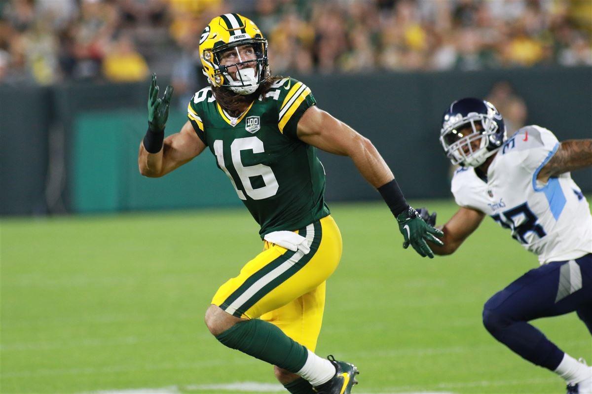Report: Jake Kumerow suffered sprained shoulder vs. Steelers