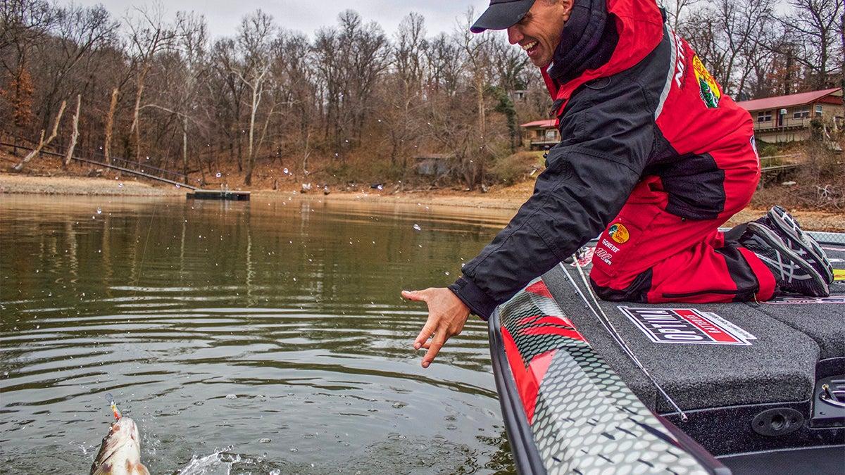 Winter Bass Fishing Tackle