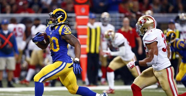8f52af37a Todd Gurley Named PFWA Rookie of the Year
