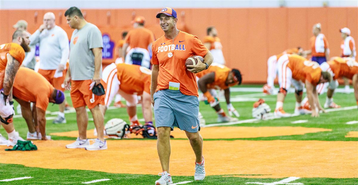 Clemson fall camp photo gallery #3