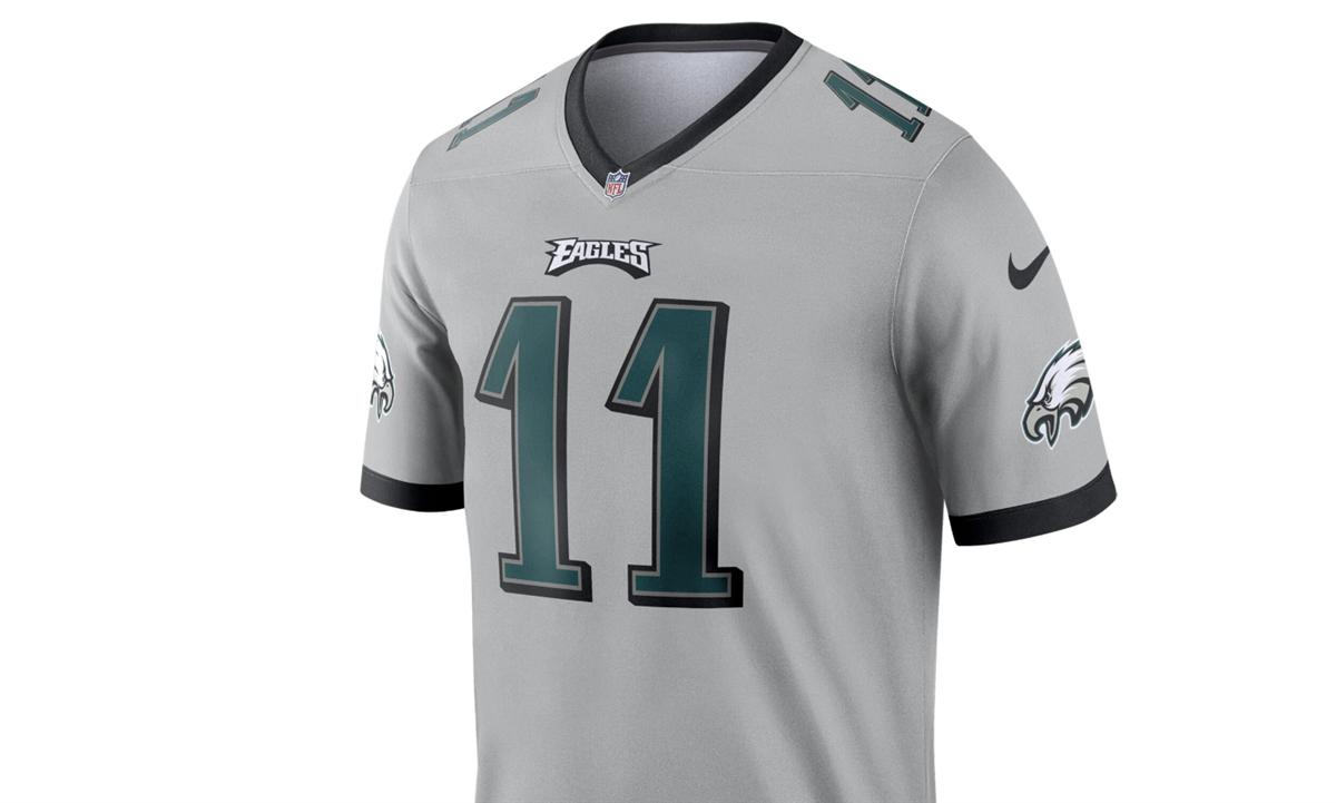 official photos 763c3 ec439 NFL, Nike introduce Eagles 'inverted legend' jersey for 2019