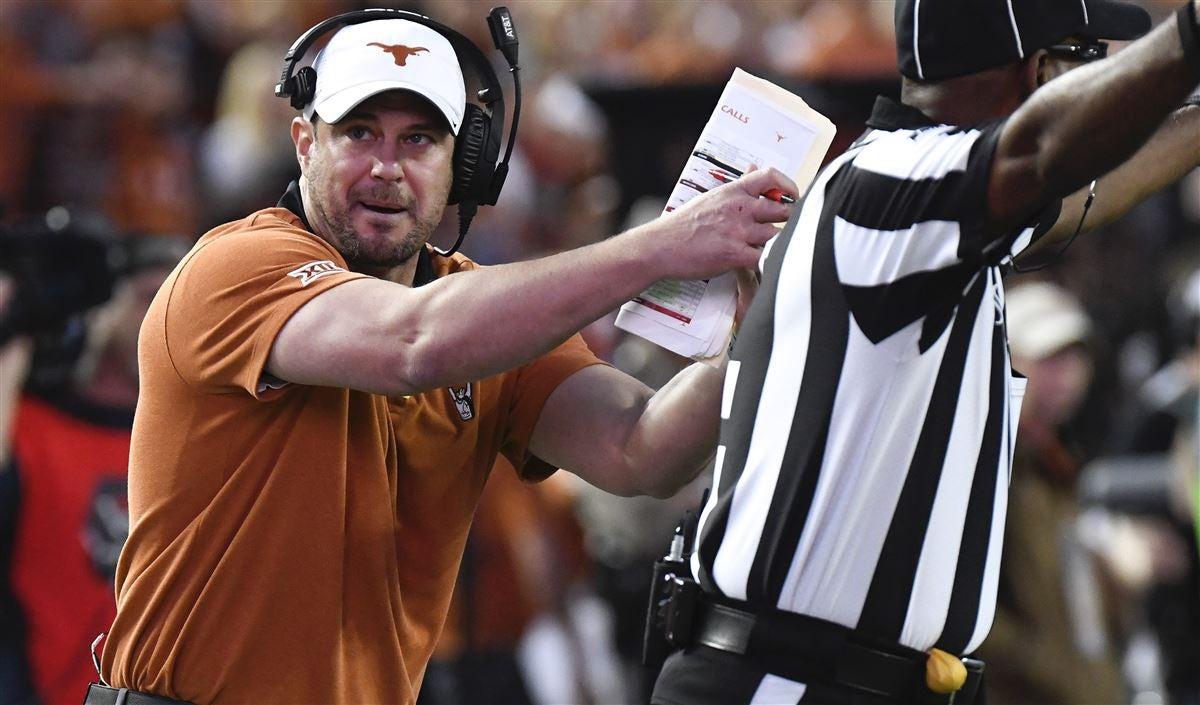Media rips Tom Herman for Texas' lack of discipline vs. ISU