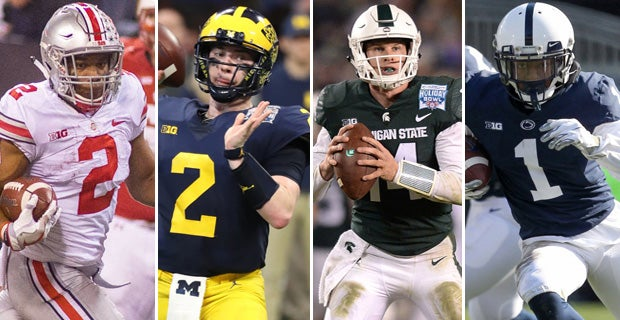 12d7bc8e1f1 Big Ten Spring Preview: Can anybody catch Ohio State in East?