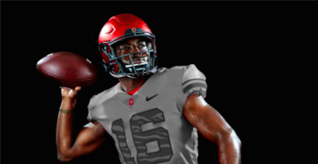 c4f73554d14 Reaction to Ohio State's grey alternate uniforms