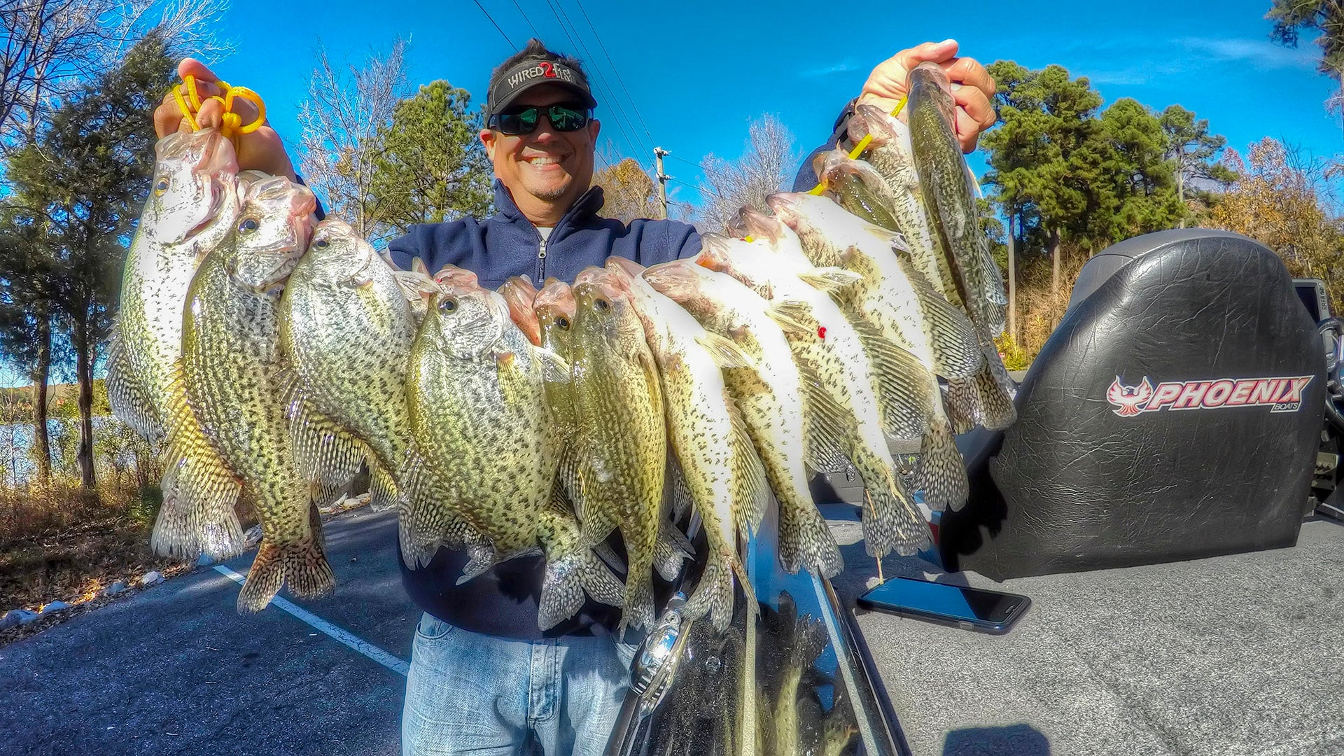Why i use one crappie fishing plastic type now for Is today a good day to fish