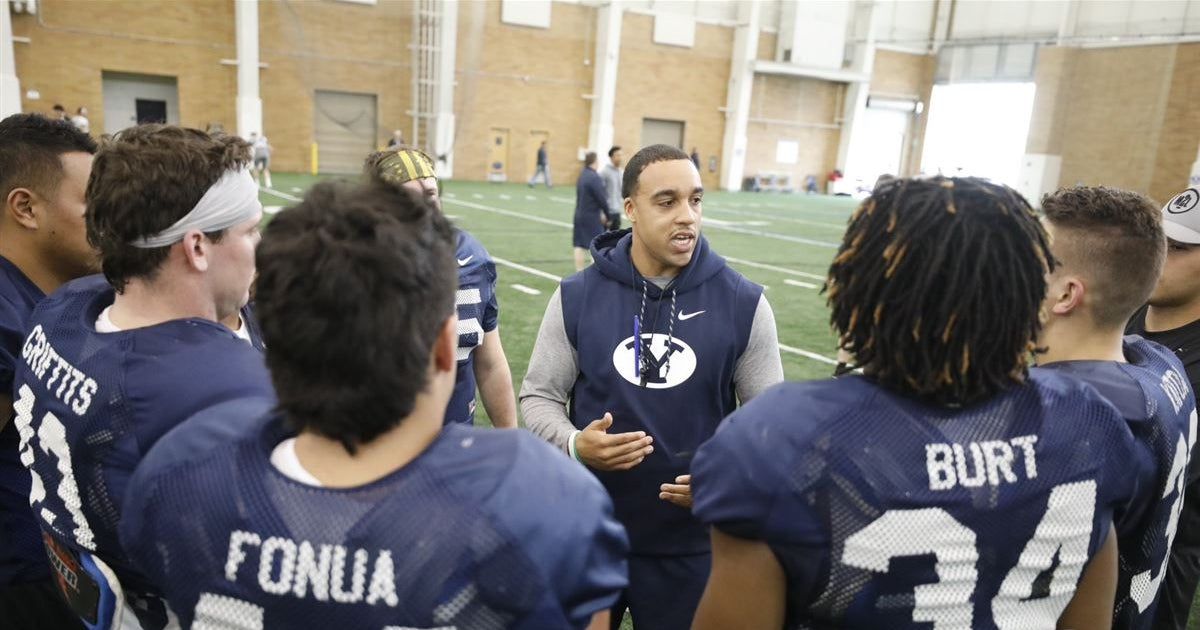Zach Katoa is eager to help lead BYU's running backs group