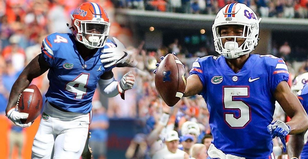 reputable site 68eac c3818 UF awards No. 1 jerseys to Henderson, Toney