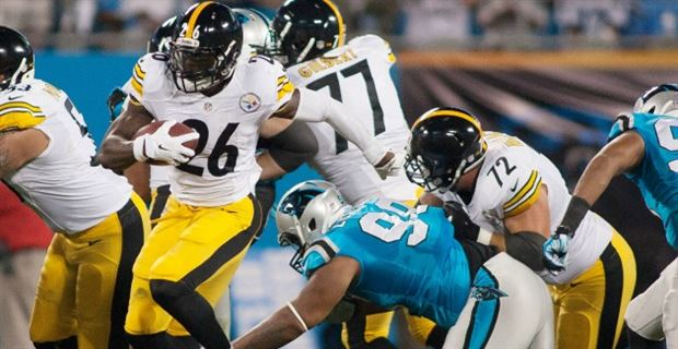 (Photo  Le Veon Bell and the Steelers defeated the Panthers in Carolina on  Prime Time in 2014.  ae415b8ba