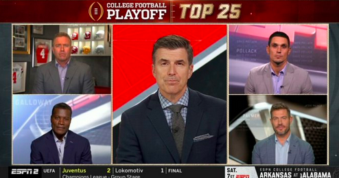 College GameDay crew determines nation's best one-loss team